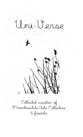 Uni-Verse zine cover